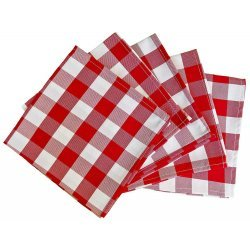 Checkered Napkins