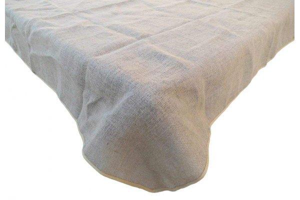 60 x 126 Burlap Tablecloth