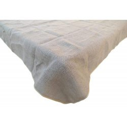 72 x 72 Burlap Tablecloth