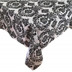 90 x 90 Damask Tablecloth
