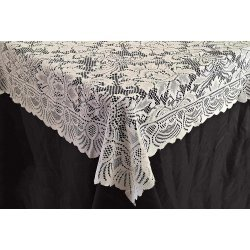 90 x 90 Lace Tablecloth